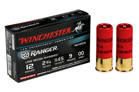 WINCHESTER AMMO 12 GA 2 3/4 IN 9 PELLET 00 LOW RECOIL
