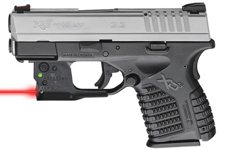 SPRINGFIELD XDS 3.3 45 BITONE W/ VIRIDIAN RED LASER