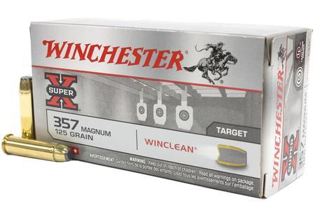 Winchester 357 Mag 125 gr JSP Winclean Super X 50/Box