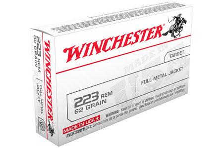 Winchester 223 Rem 62 gr FMJ 20/Box