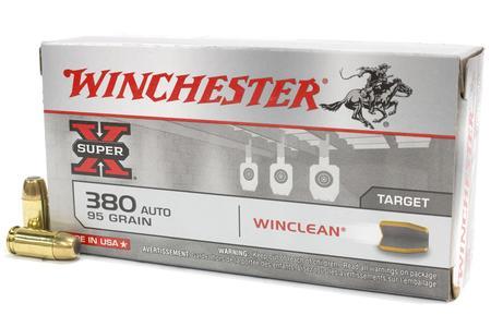 Winchester 380 Auto 95 gr BEB Winclean Super X 50/Box