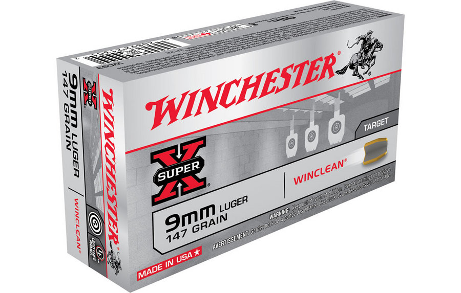 Image result for winchester 9mm luger 147gn winclean
