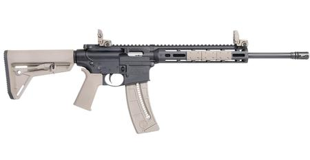 SMITH AND WESSON MP15-22 SPORT MOE SL FDE RIMFIRE RIFLE