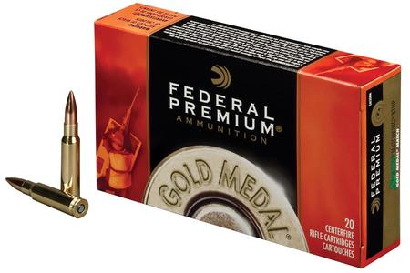 FEDERAL AMMUNITION 338 Lapua 300 gr Sierra MatchKing BTHP Gold Medal Match 20/Box