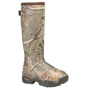 WOMENS ALPHA BURLY INSULATED CAMO BOOT