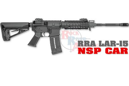 ROCK RIVER ARMS LAR-15 5.56MM NSP CAR SEMI-AUTO RIFLE