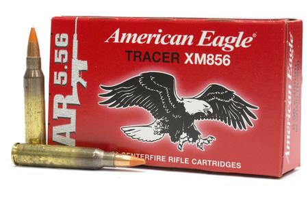 Federal 5.56mm 64 gr XM856 FMJ American Eagle Tracer 20/Box