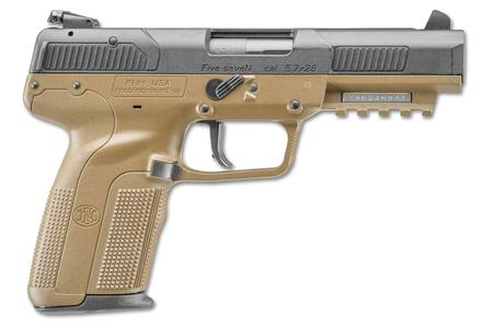 FNH FIVE-SEVEN 5.7X28MM FLAT DARK EARTH
