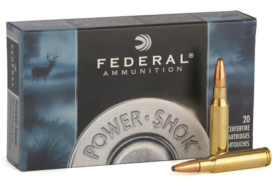 FEDERAL AMMUNITION 6MM REM 100 GR SP POWER-SHOK