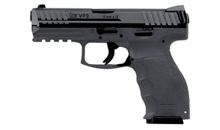 VP9 9MM GREY FRAME STRIKER-FIRED PISTOL