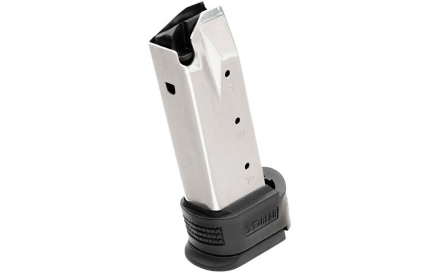 XD SUB COMPACT 9MM 10-ROUND MAG W/SLEEVE