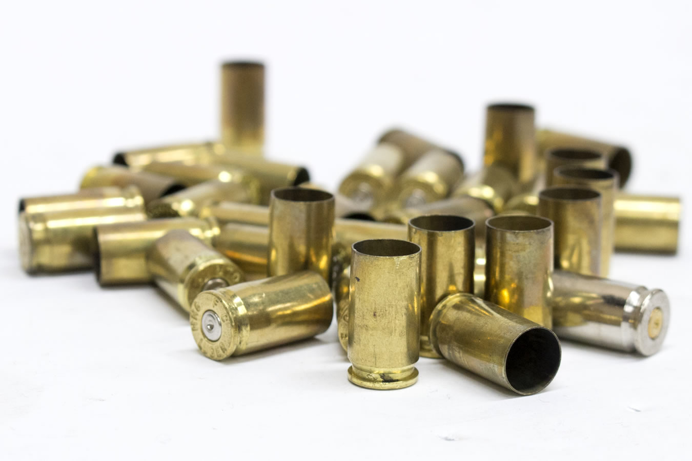 9MM RELOADABLE BRASS 500/BAG