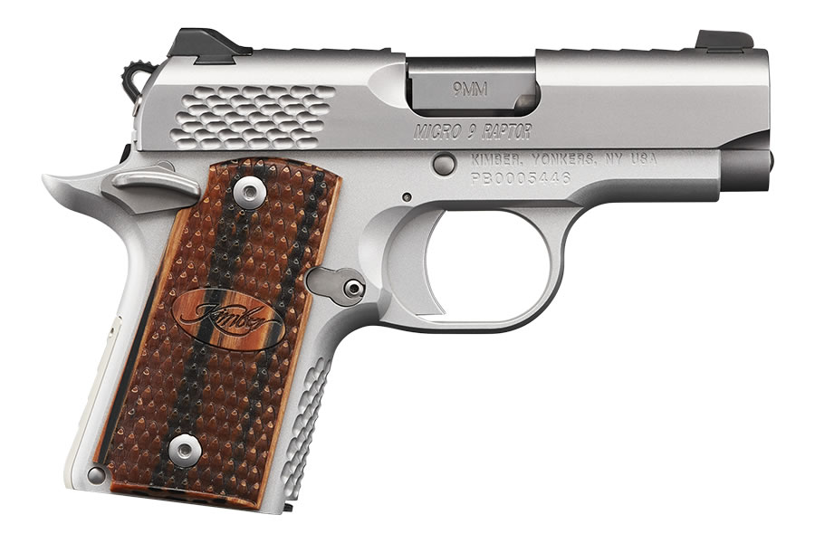 No. 12 Best Selling: KIMBER MICRO 9 STAINLESS RAPTOR 9MM