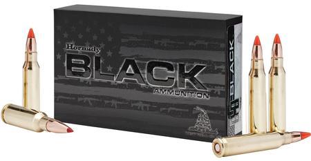Hornady 308 Win 168 gr A-Max Black 20/Box