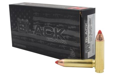 HORNADY 450 Bushmaster 250 gr FTX Black 20/Box