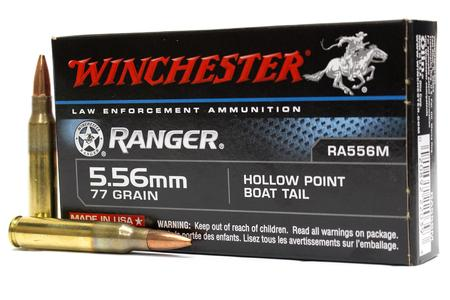 5.56MM 77 GR HPBT RANGER 20/BOX (LE)