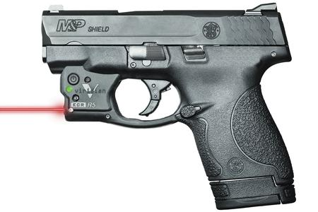 SMITH AND WESSON MP9 SHIELD WITH VIRIDIAN LASER