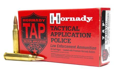 HORNADY 5.56 NATO 55 gr GMX TAP Barrier Police Trade Ammo 20/Box