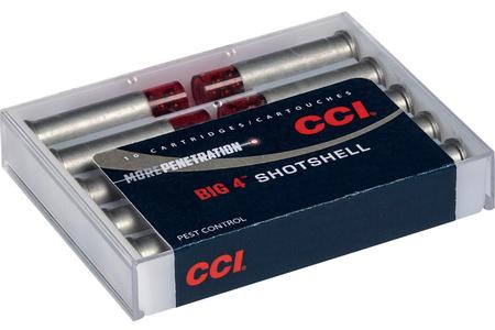 CCI AMMUNITION 44 Special / 44 Mag 110 gr #4 Shot Big 4 Shotshell 10/Box