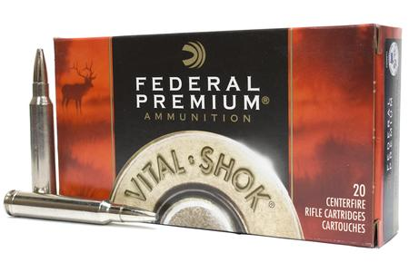 FEDERAL AMMUNITION 300 Win Mag 200 gr Trophy Bonded Bear Claw Vital-Shok 20/Box