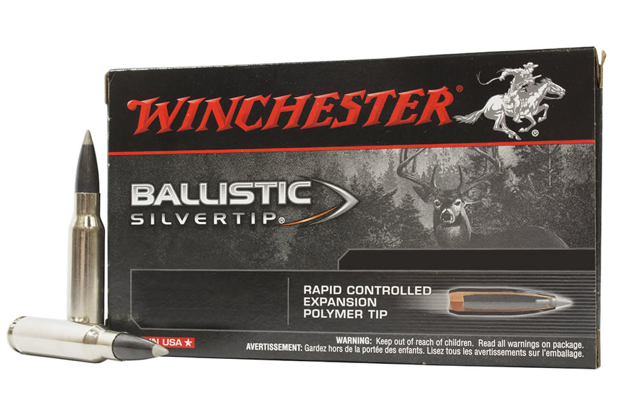 winchester 300 wsm 180 gr polymer tip ballistic silvertip 20 box