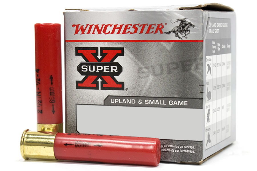 WINCHESTER AMMO 410 GA 2-1/2 IN 1/2 OZ HIGH BRASS HEAVY GAME SUPER-X