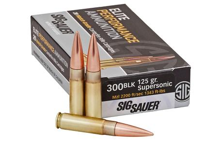 Sig Sauer 300 Blackout 125 gr Sierra MatchKing Elite Match OTM 20/Box