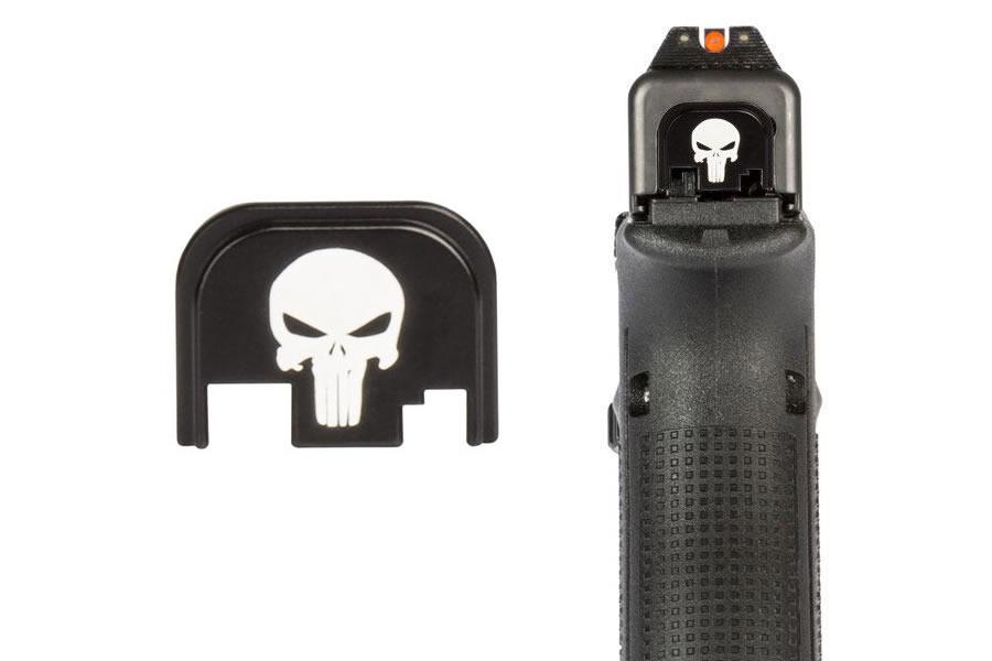 Punisher Custom Back Plate for Glock 17/19/26