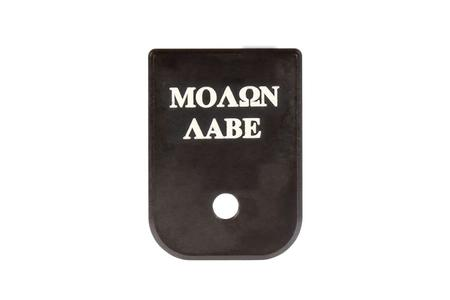 Cruxord Custom Molon Labe Magazine Base Plate for Glock 9mm and 40 S&W