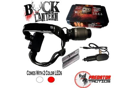BUCK LANTERN KIT WHITE AND RED