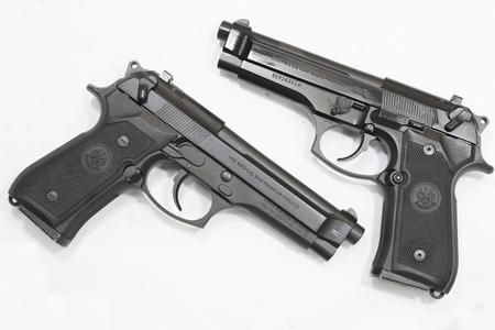 Beretta 92FS DA/SA 9mm Police Trade-ins (Very Good)
