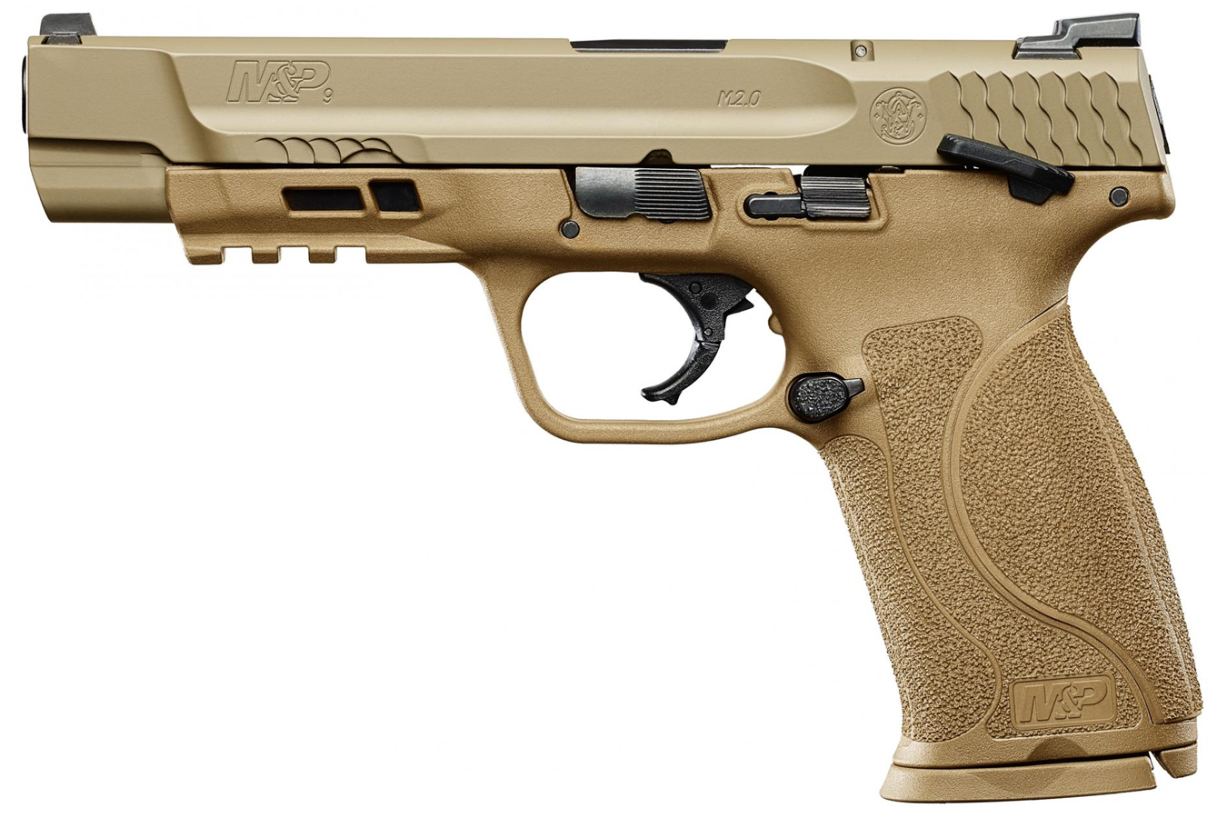 No. 11 Best Selling: SMITH AND WESSON MP9 M2.0 9MM FDE PISTOL W/ 5-INCH BARREL