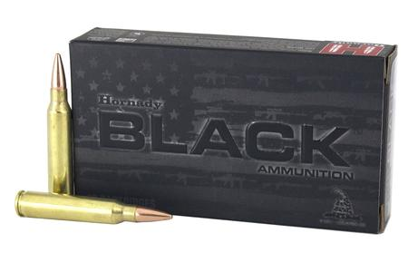 HORNADY 223 Rem 75 gr BTHP Match Black 20/Box