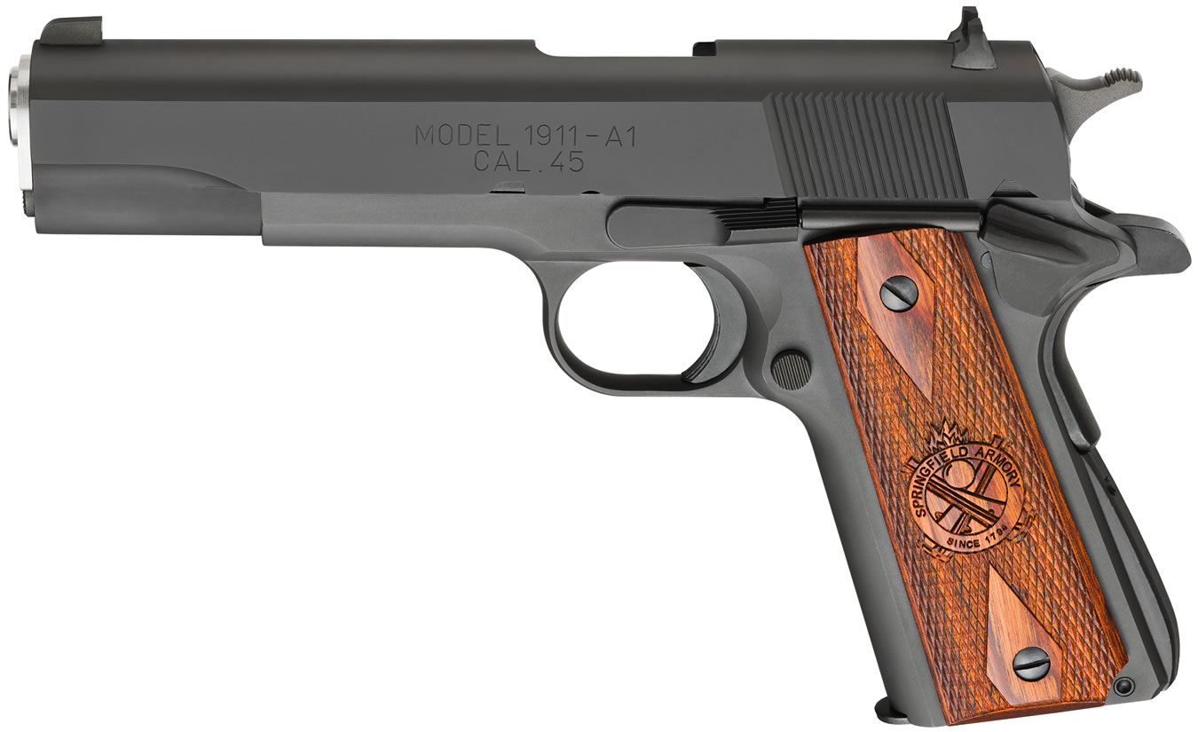 No. 4 Best Selling: SPRINGFIELD 1911 MIL-SPEC 45 ACP PARKERIZED