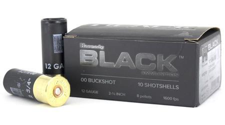 Hornady 12 Gauge 2 3/4 in 00 Buckshot Black 10/Box
