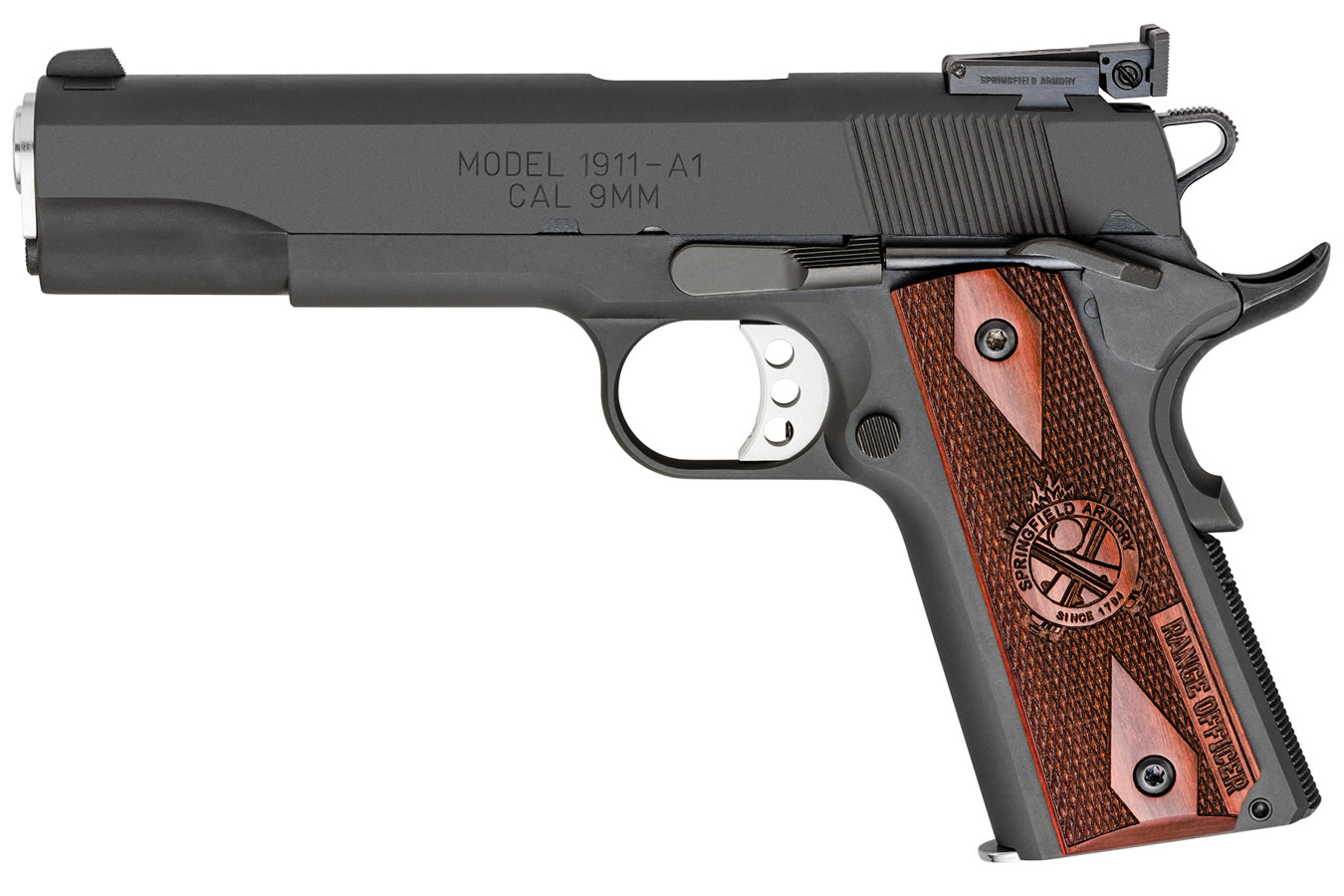 Springfield 1911 Range Officer Parkerized 9mm Essentials Package ...