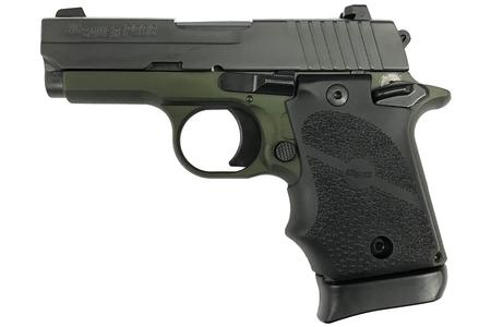 P938 9MM ARMY GREEN ANODIZED