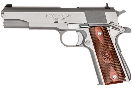 SPRINGFIELD 1911 MIL-SPEC 45ACP STAINLESS ESSENTIALS