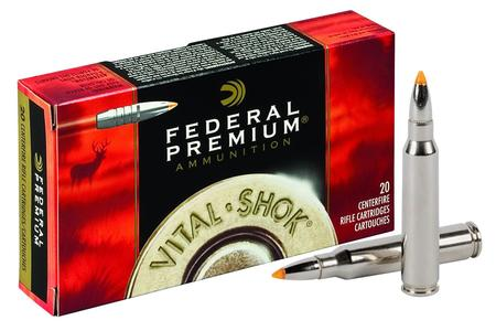 Federal 270 Win 140 gr Trophy Bonded Tip Vital-Shok 20/Box