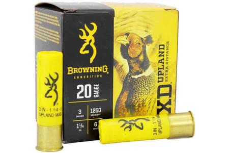 20 GAUGE 3 IN 1-1/4OZ 6 SHOT 25/BOX