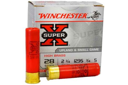28 GAUGE 3/4OZ  5 SHOT SUPER X UPLAND
