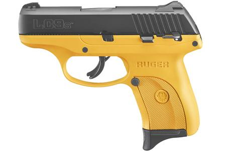 RUGER LC9S 9MM LUGER YELLOW CERAKOTE