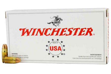 WINCHESTER AMMO 357 Sig 125 gr FMJ Police Trade-in Ammo 50/Box