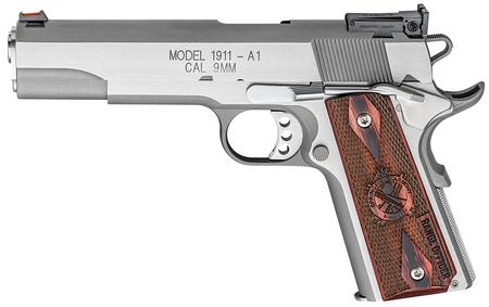SPRINGFIELD 1911-A1 RANGE OFFICER STAINLESS 9MM