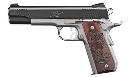 Kimber Camp Guard 10 RMEF 10mm 1911 with Rosewood Grips