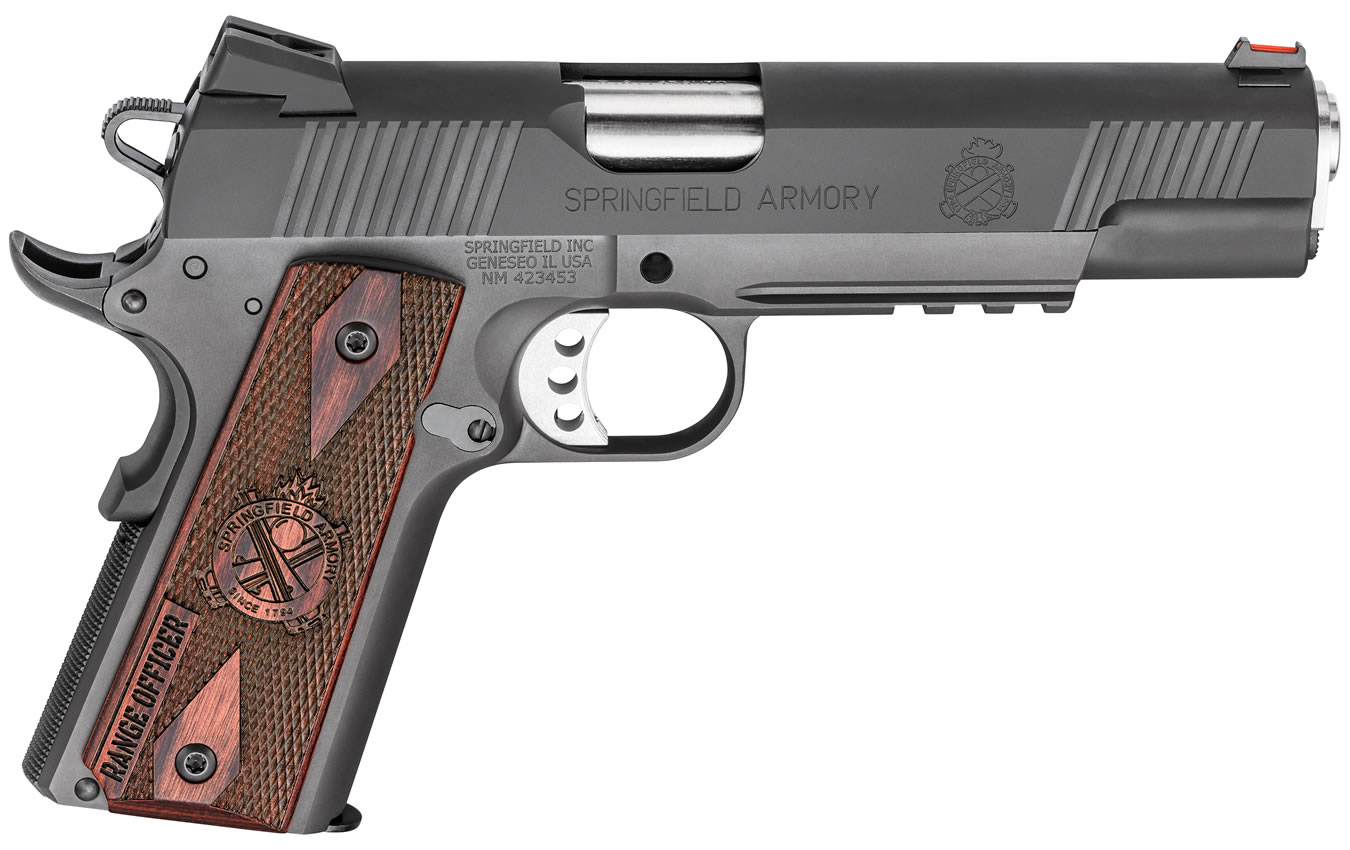 1911 RANGE OFFICER 45 ACP ESSENTIALS PKG