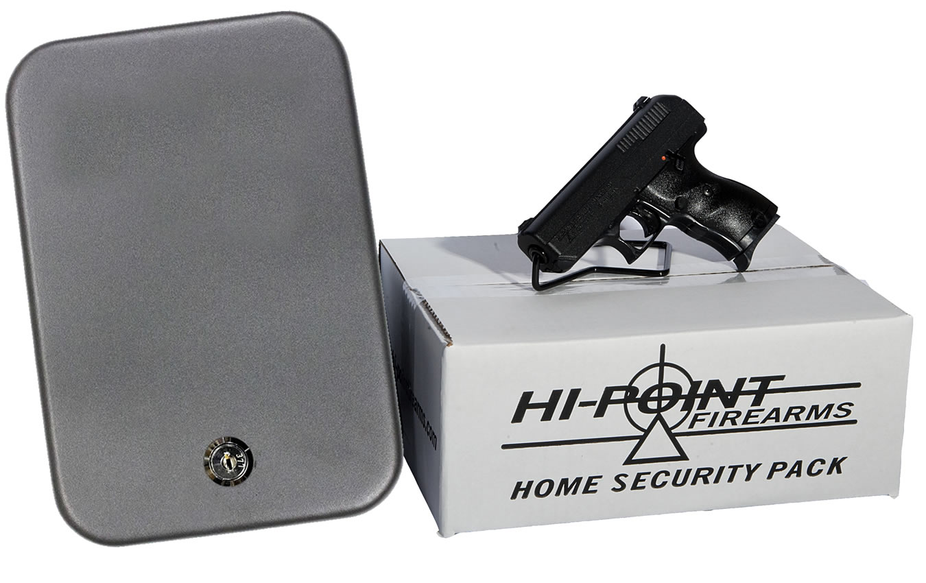 C-9 9MM HOME SECURITY PACKAGE W/LOCK BOX