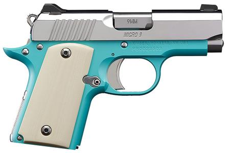 KIMBER Micro 9 Bel Air 9mm Special Edition Carry Conceal Pistol