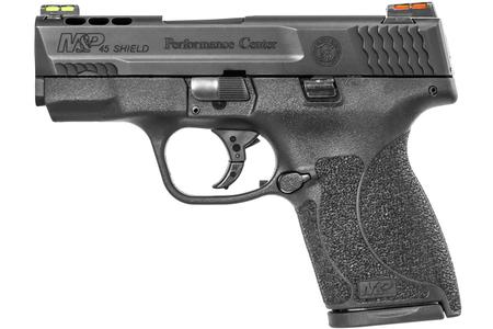 SMITH AND WESSON MP45 SHIELD PC PORTED 45ACP W/ HI-VIZ