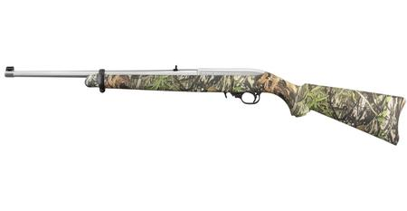RUGER 10/22 CARBINE 22LR STAINLESS MOSSY OAK